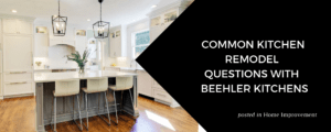 Common Kitchen Remodel Questions with Beehler Kitchens by Stacy Snively at ZVilleHomes.com