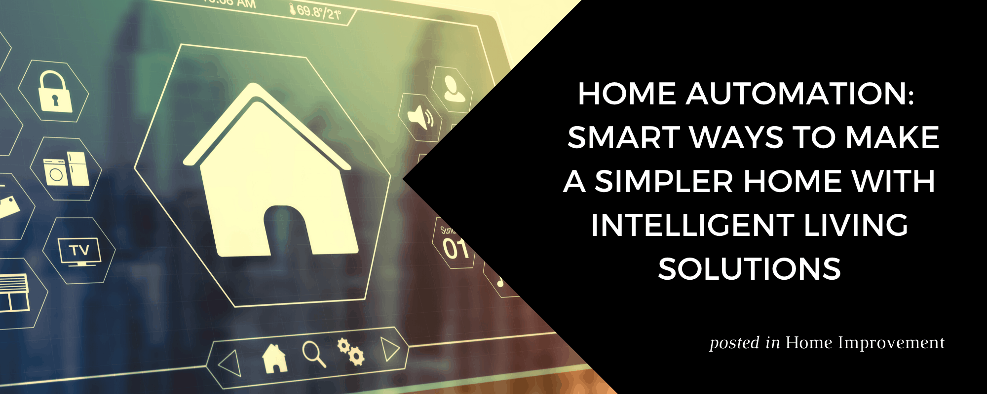 Home Automation - Smart Ways to Make A Simpler Home by Stacy Snively at ZVilleHomes.com