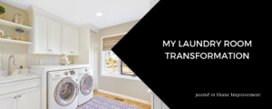 My Laundry Room Transformation by Stacy Snviely at ZVilleHomes.com