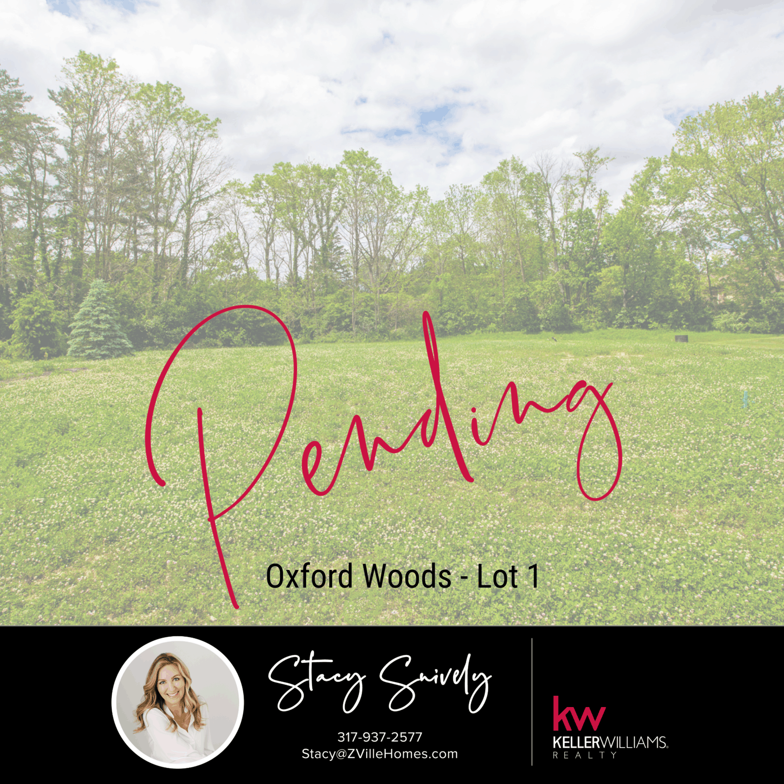 Oxford Woods - Lot 1 - Just Listed