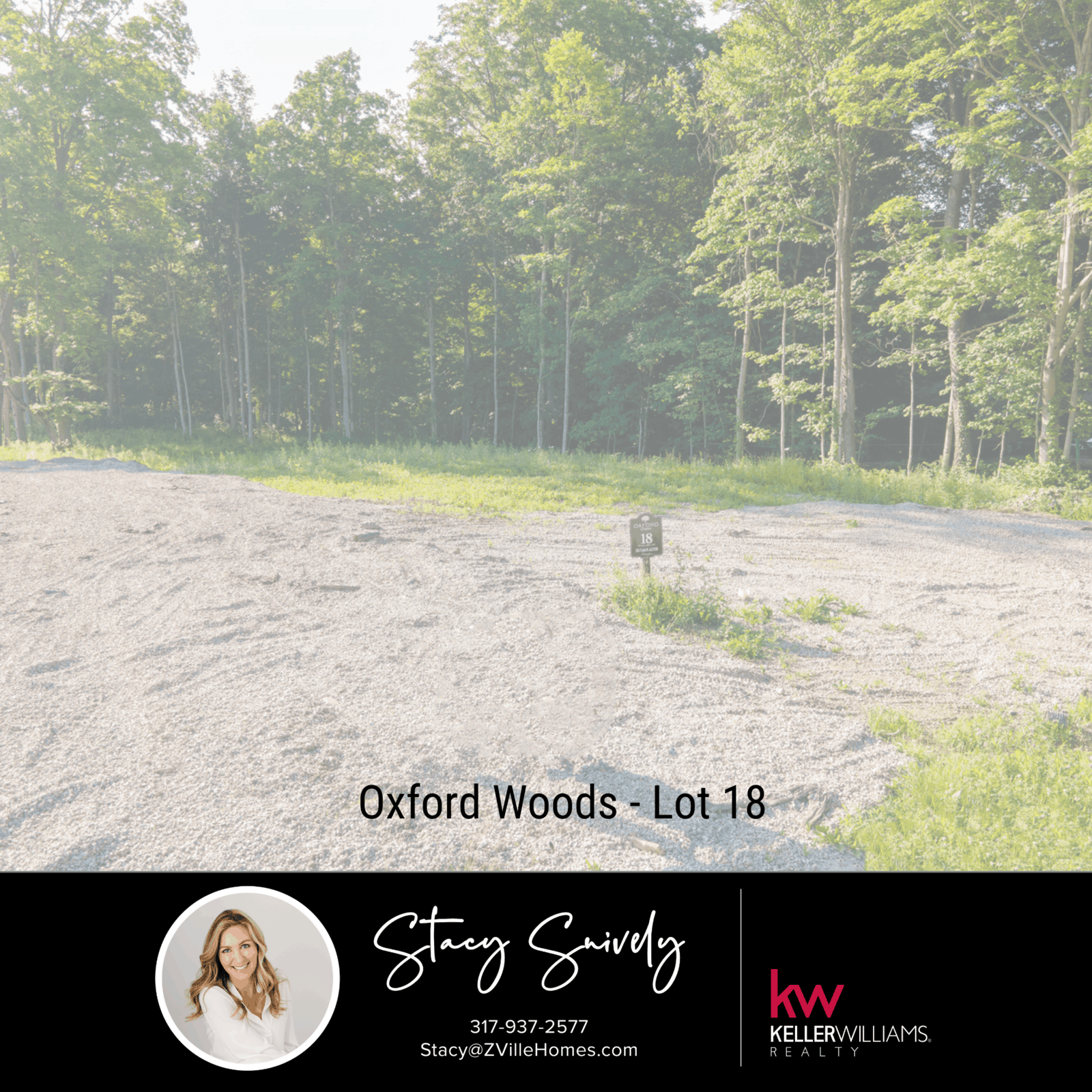 Oxford Woods - Lot 18 Just Listed