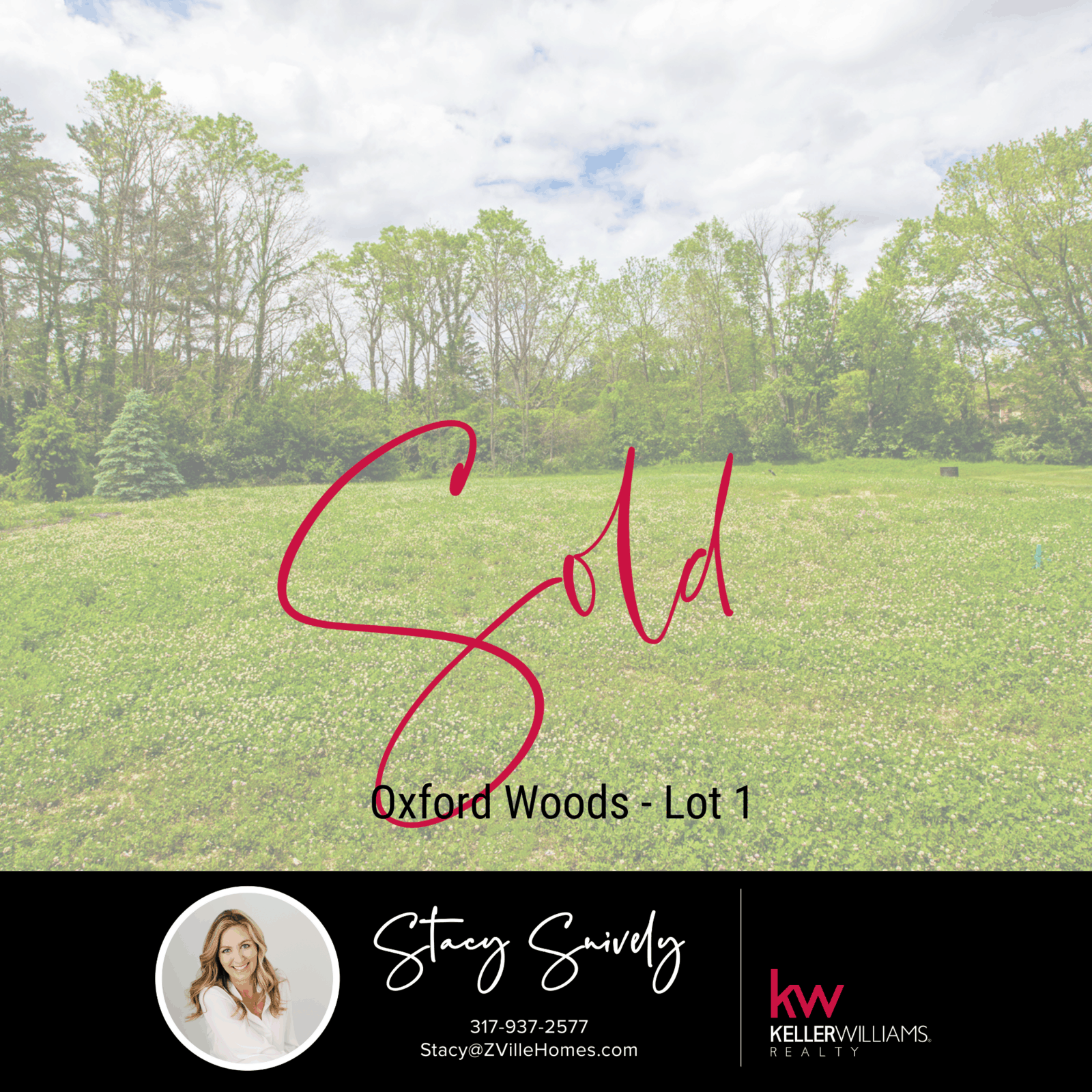 Oxford Woods - Lot 1 - Sold